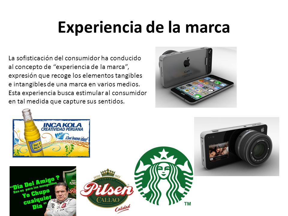 Experiencia de la marca