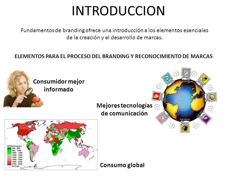 Consumidor mejor informado Mejores tecnologías de comunicación