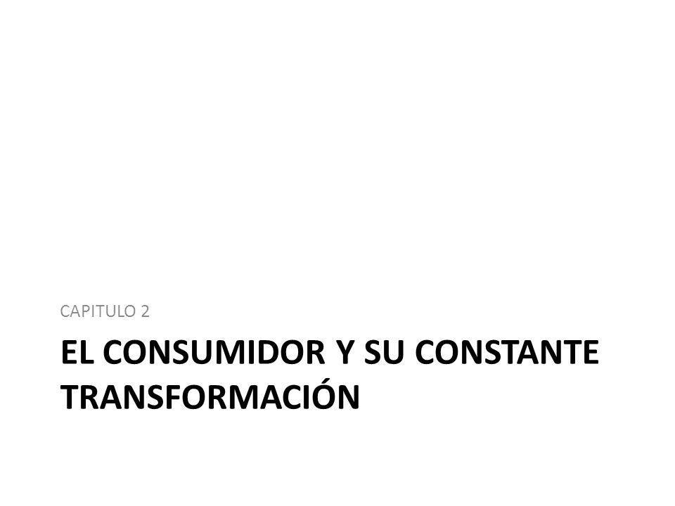 EL CONSUMIDOR Y SU CONSTANTE TRANSFORMACIÓN