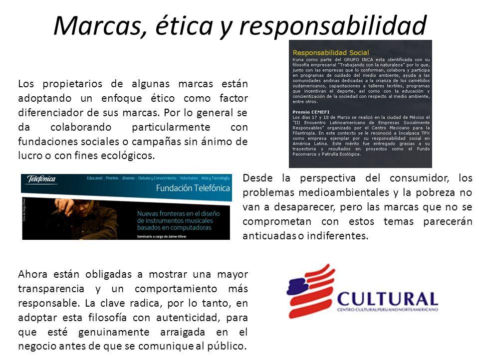 Marcas, ética y responsabilidad