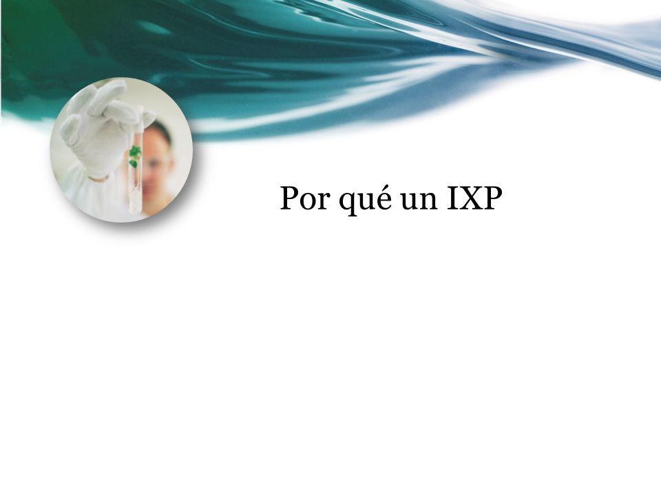 Por qué un IXP