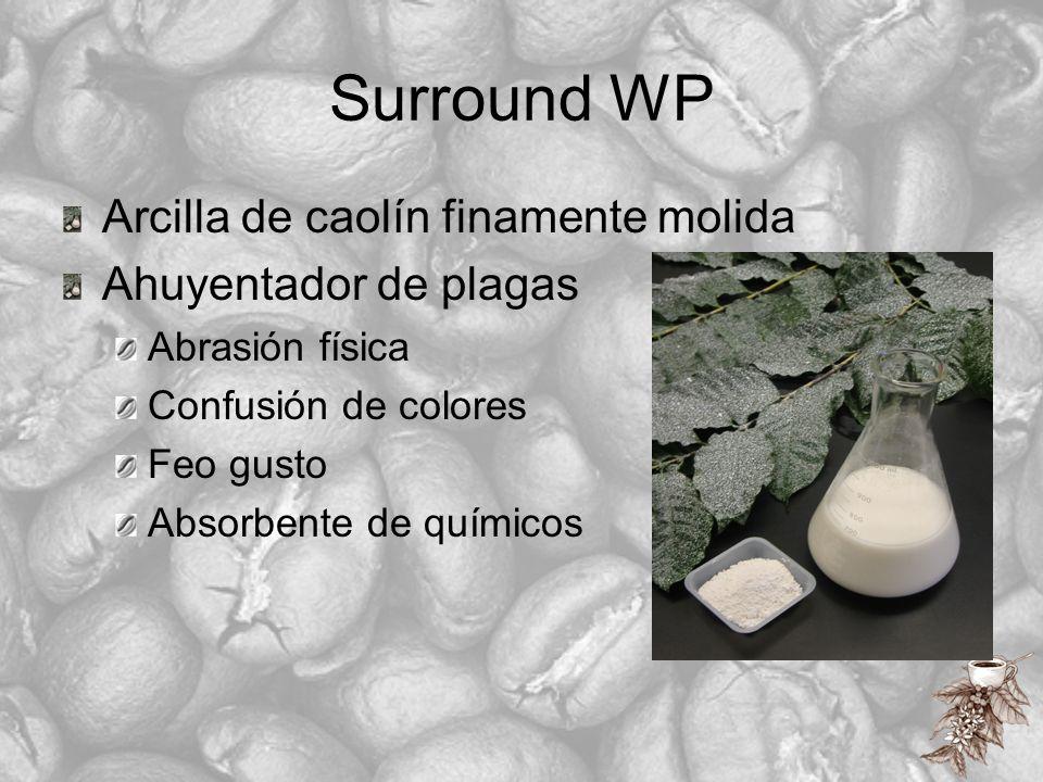 Surround WP Arcilla de caolín finamente molida Ahuyentador de plagas