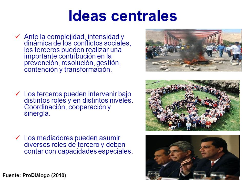 Ideas centrales