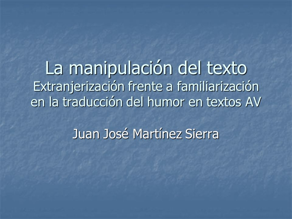 Juan José Martínez Sierra