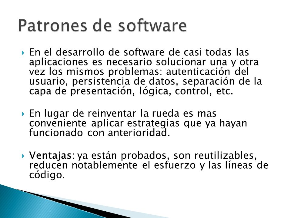Patrones de software