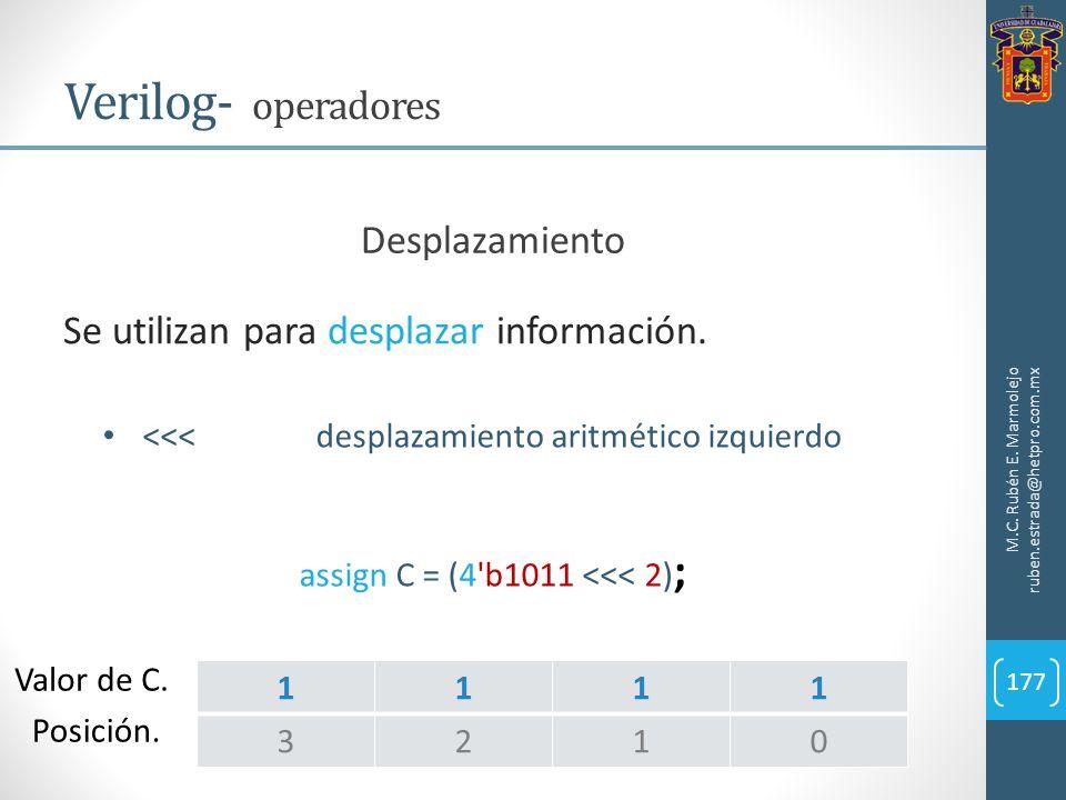 assign C = (4 b1011 <<< 2);
