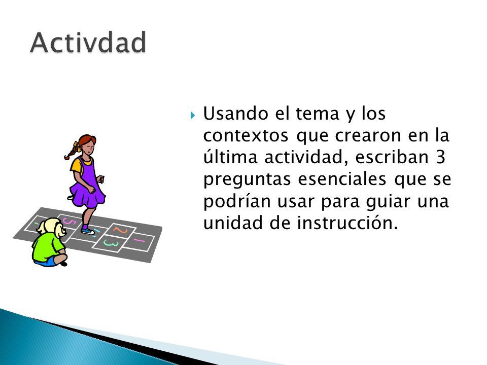Activdad