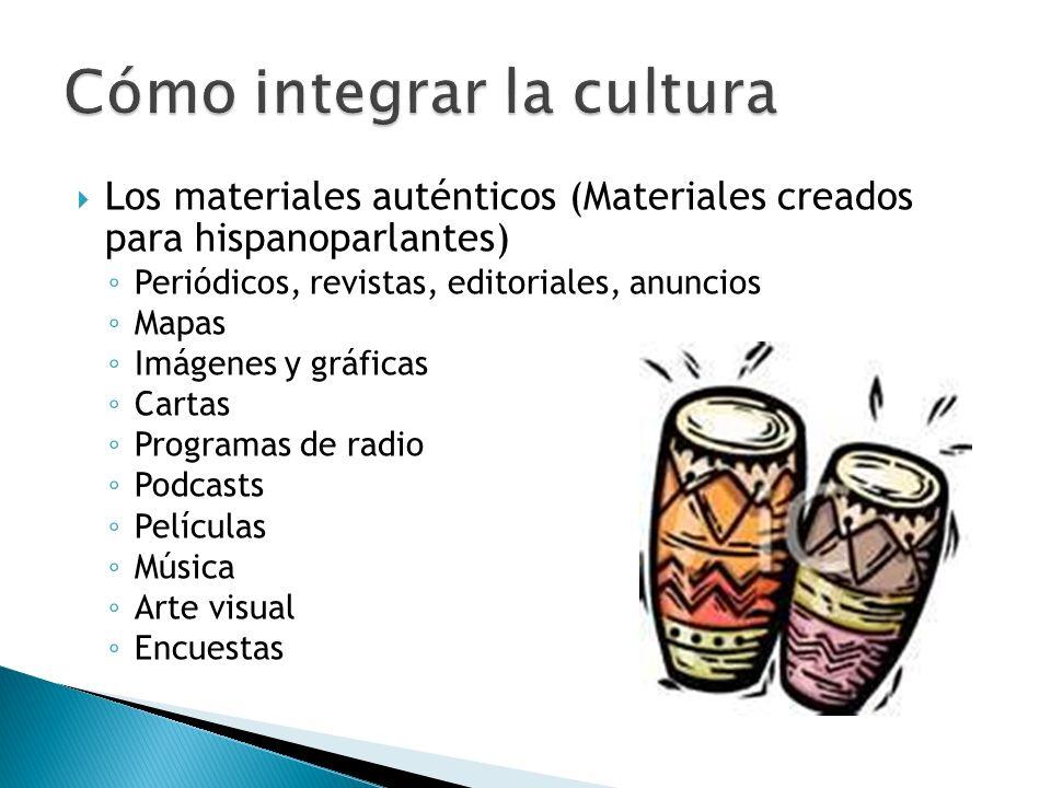 Cómo integrar la cultura