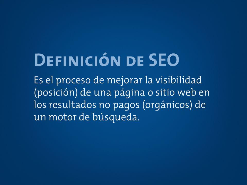 Definición de SEO