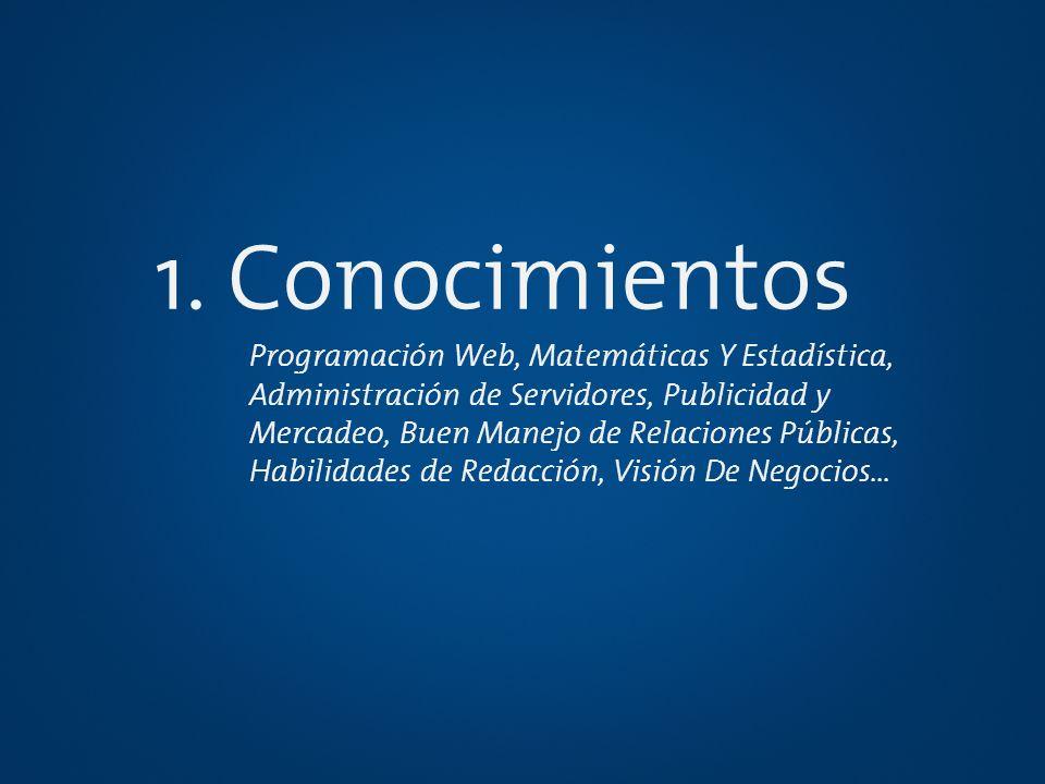 1. Conocimientos