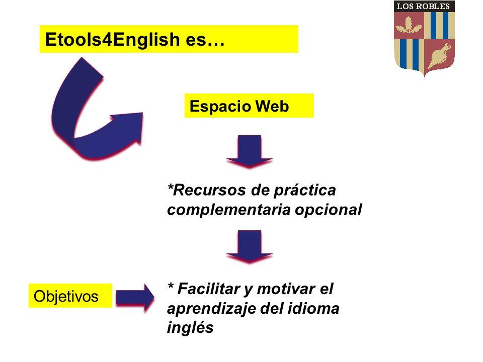 Etools4English es… Espacio Web