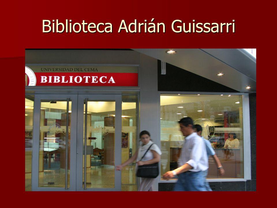 Biblioteca Adrián Guissarri