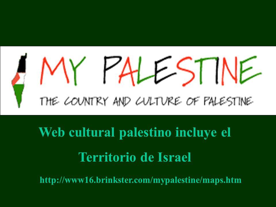 Web cultural palestino incluye el