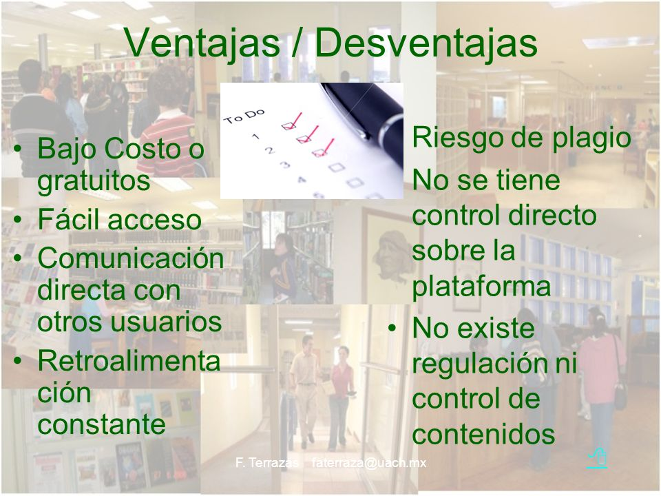 Ventajas / Desventajas