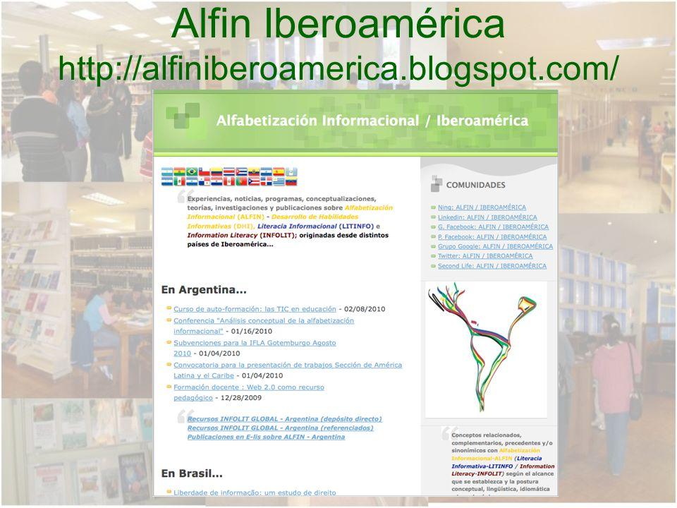 Alfin Iberoamérica http://alfiniberoamerica.blogspot.com/
