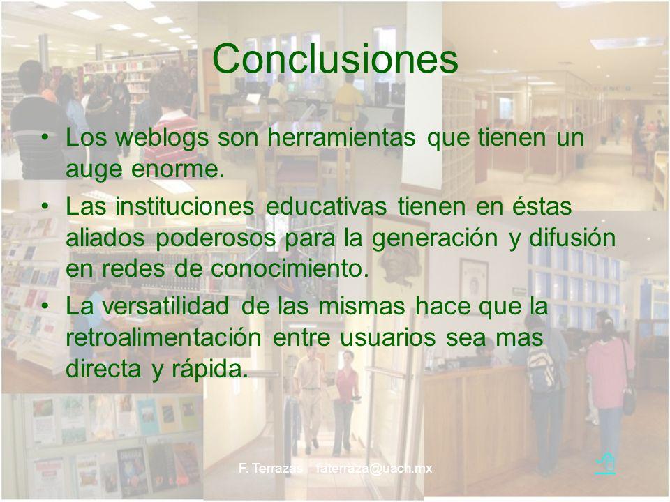 F. Terrazas faterraza@uach.mx