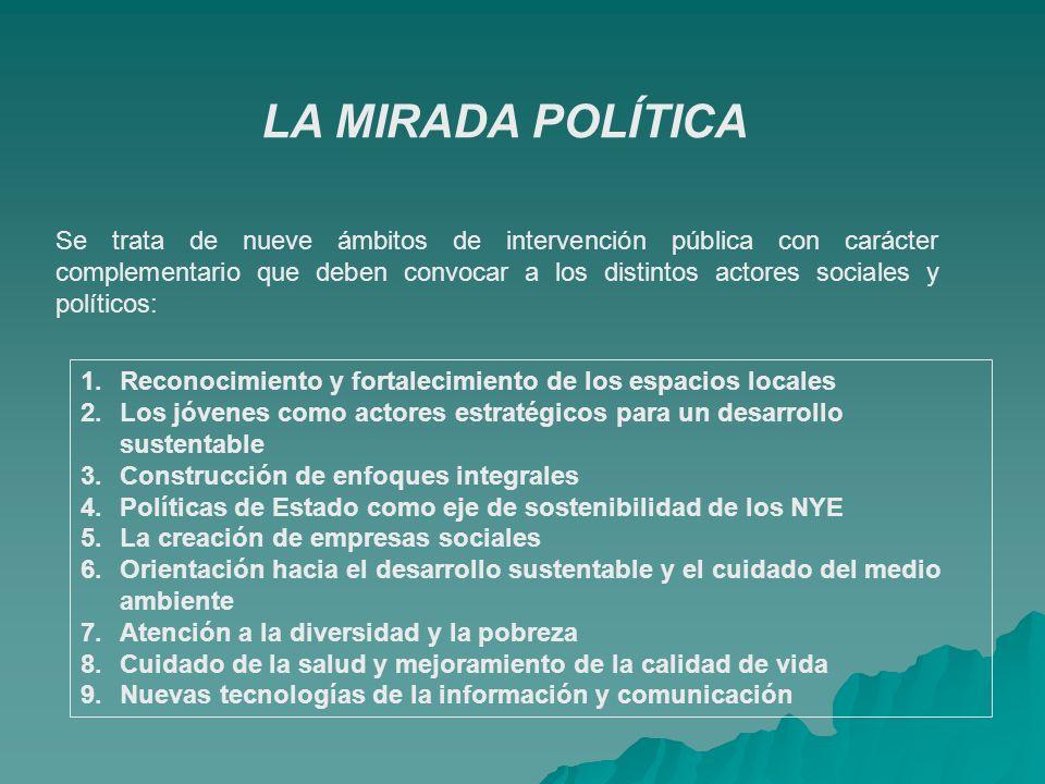 LA MIRADA POLÍTICA