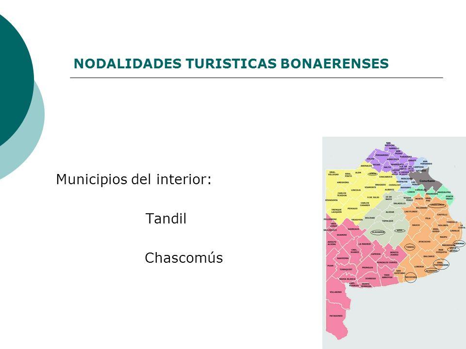 NODALIDADES TURISTICAS BONAERENSES