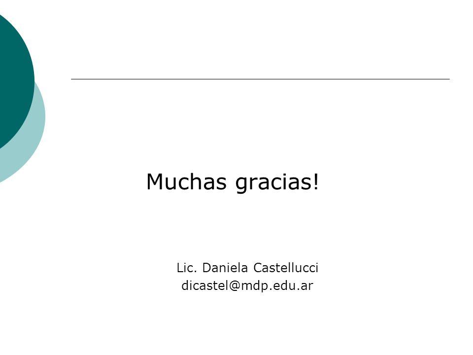 Lic. Daniela Castellucci