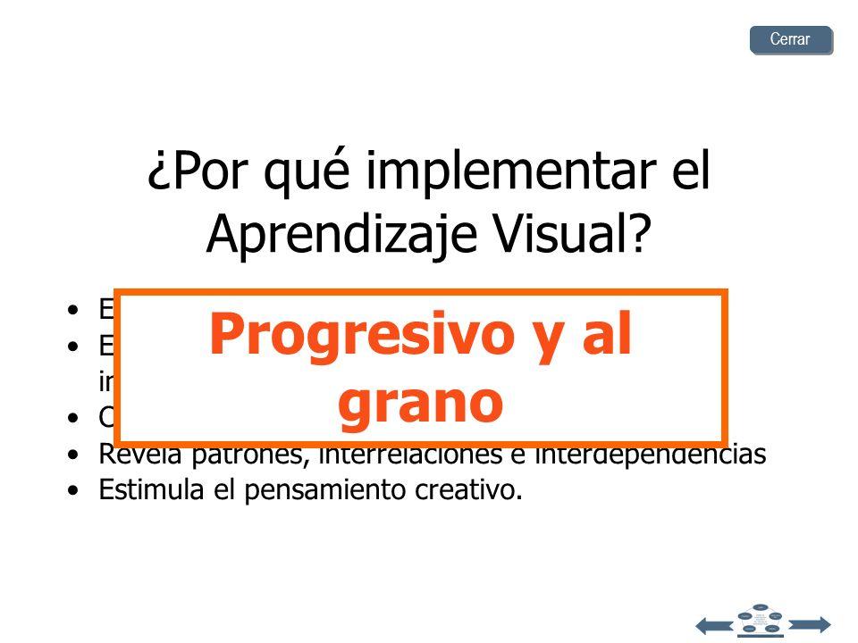 ¿Por qué implementar el Aprendizaje Visual