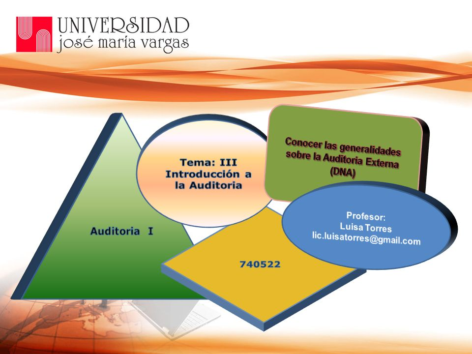 Conocer las generalidades sobre la Auditoria Externa (DNA)
