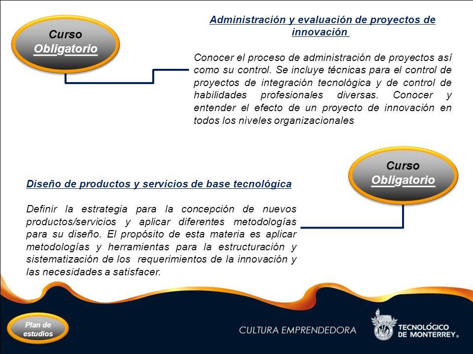 Administración y evaluación de proyectos de innovación