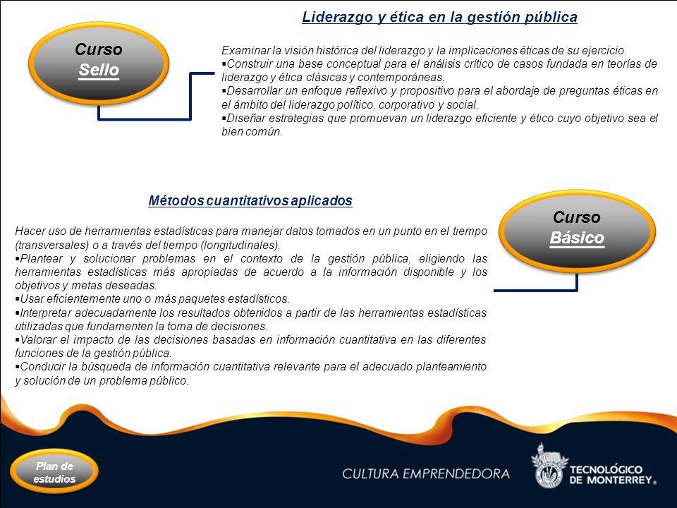 MGP Curso Sello Curso Básico Liderazgo y ética en la gestión pública