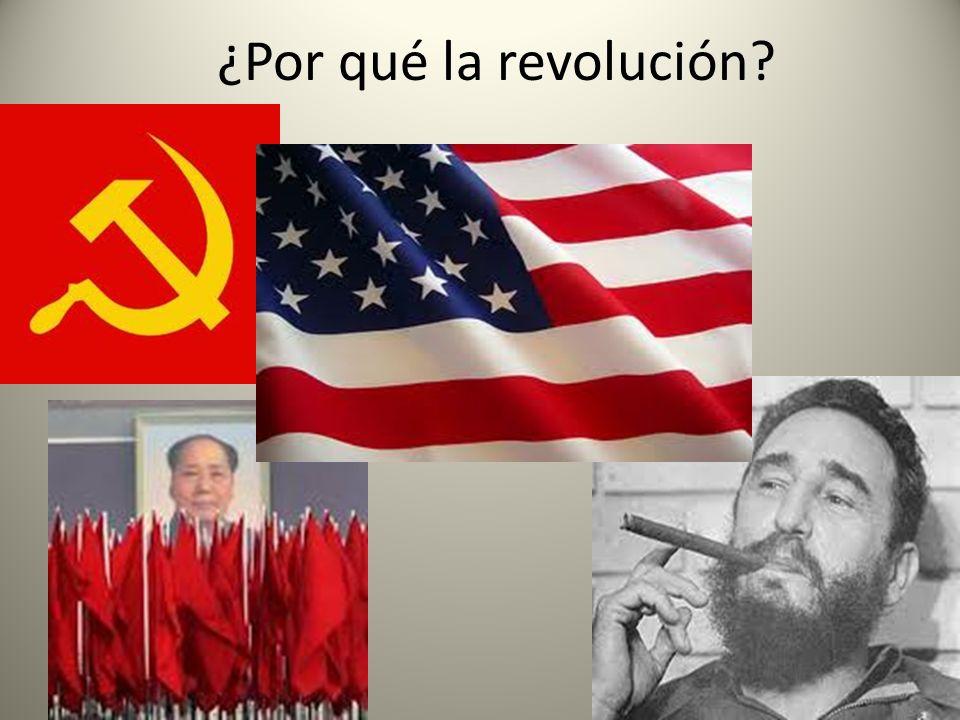 ¿Por qué la revolución