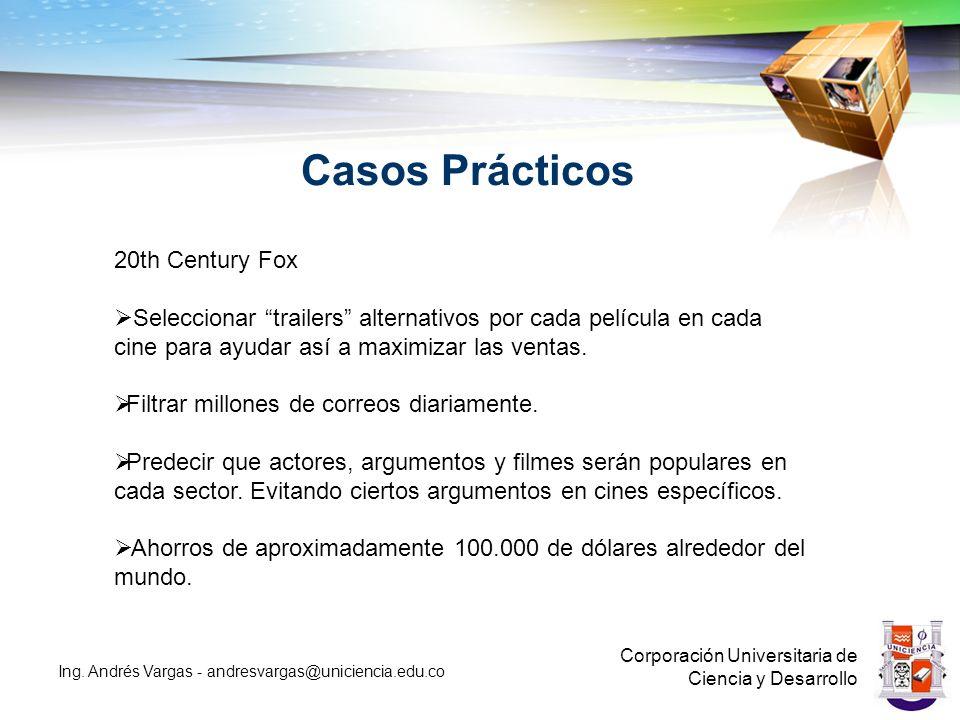Casos Prácticos 20th Century Fox