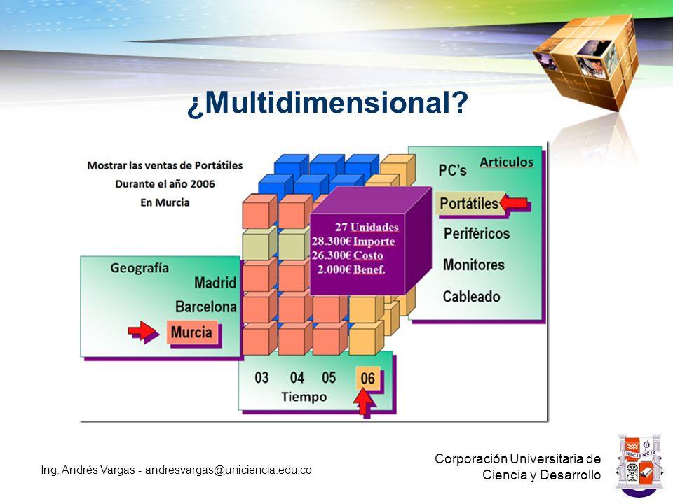 ¿Multidimensional Corporación Universitaria de Ciencia y Desarrollo