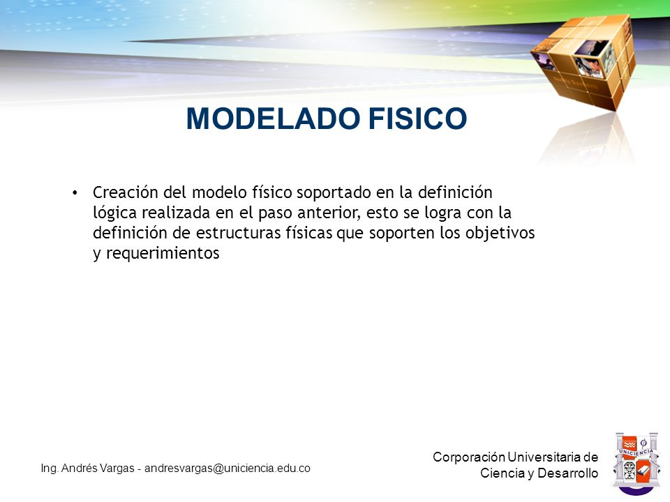 MODELADO FISICO