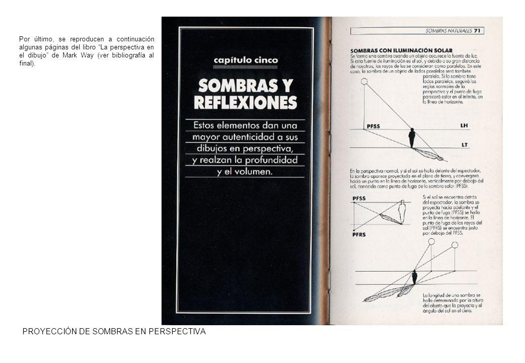 PROYECCIÓN DE SOMBRAS EN PERSPECTIVA