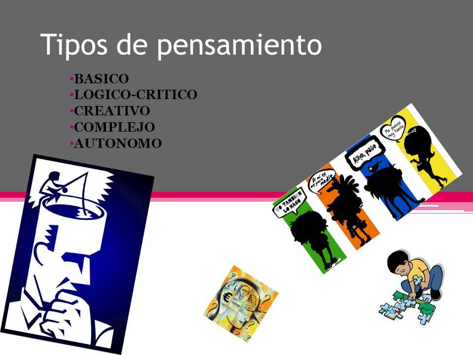 BASICO LOGICO-CRITICO CREATIVO COMPLEJO AUTONOMO