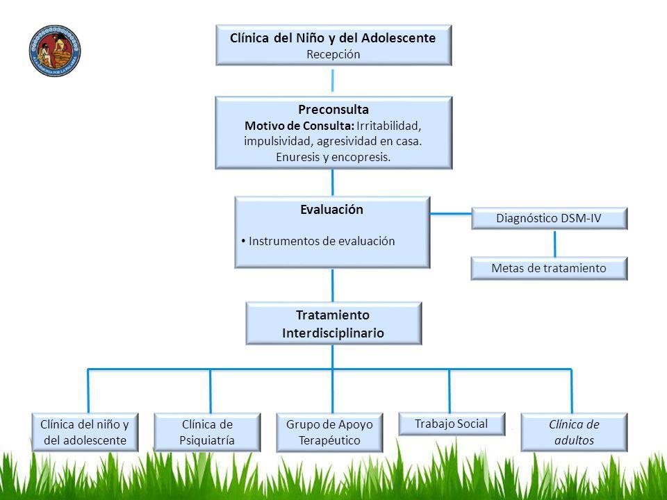 Clínica del Niño y del Adolescente Tratamiento Interdisciplinario
