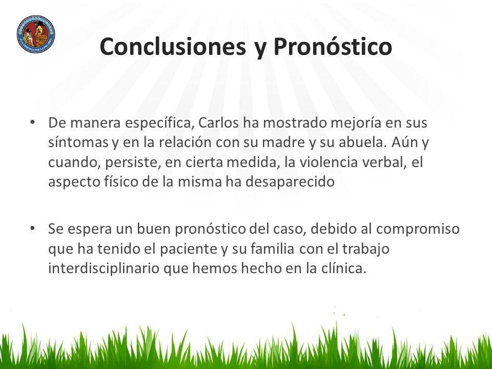 Conclusiones y Pronóstico