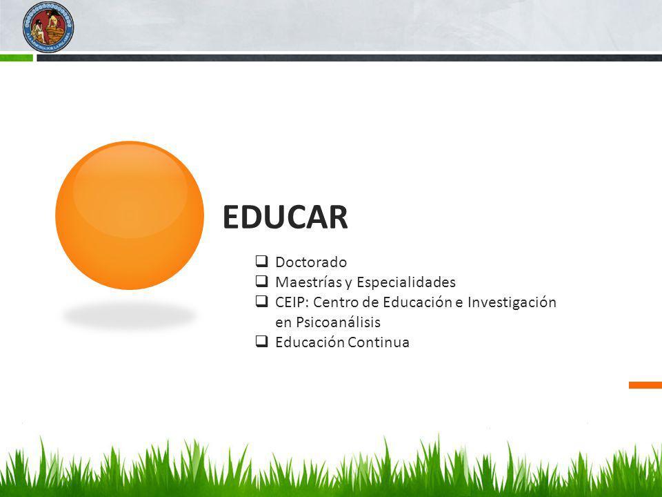 EDUCAR Doctorado Maestrías y Especialidades