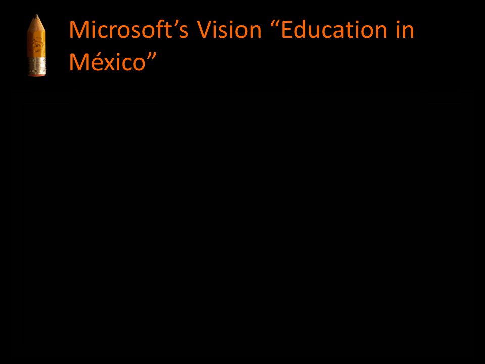 Microsoft's Vision Education in México