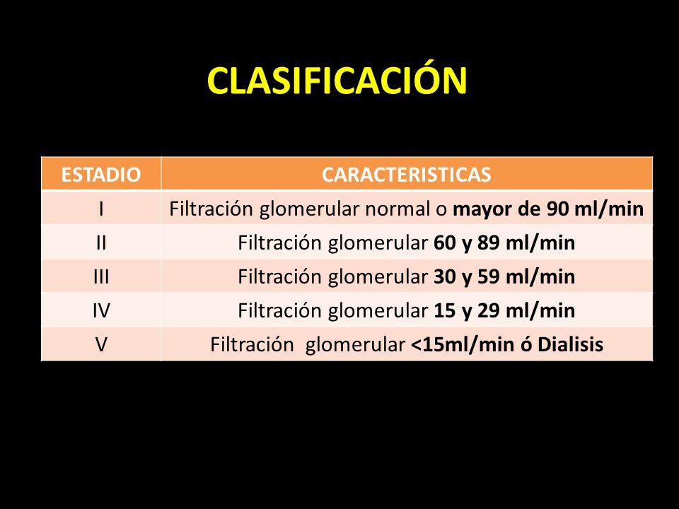 CLASIFICACIÓN ESTADIO CARACTERISTICAS I