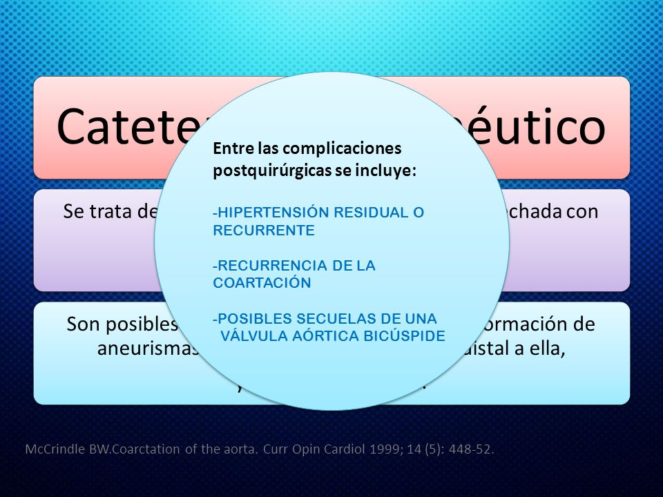 Cateterismo terapéutico