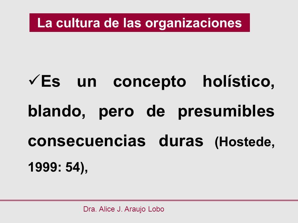 La cultura de las organizaciones