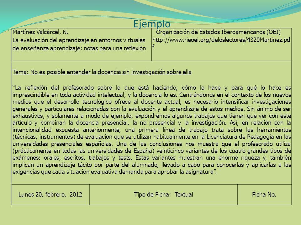 Ejemplo Martínez Valcárcel, N.