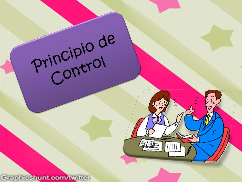 Principio de Control