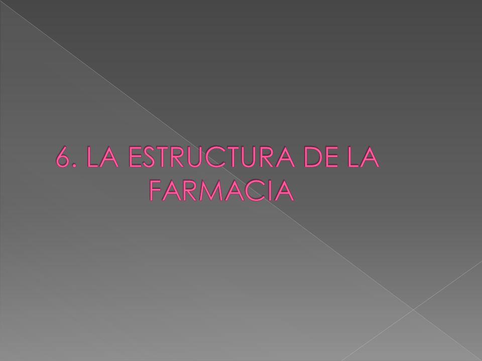 6. LA ESTRUCTURA DE LA FARMACIA