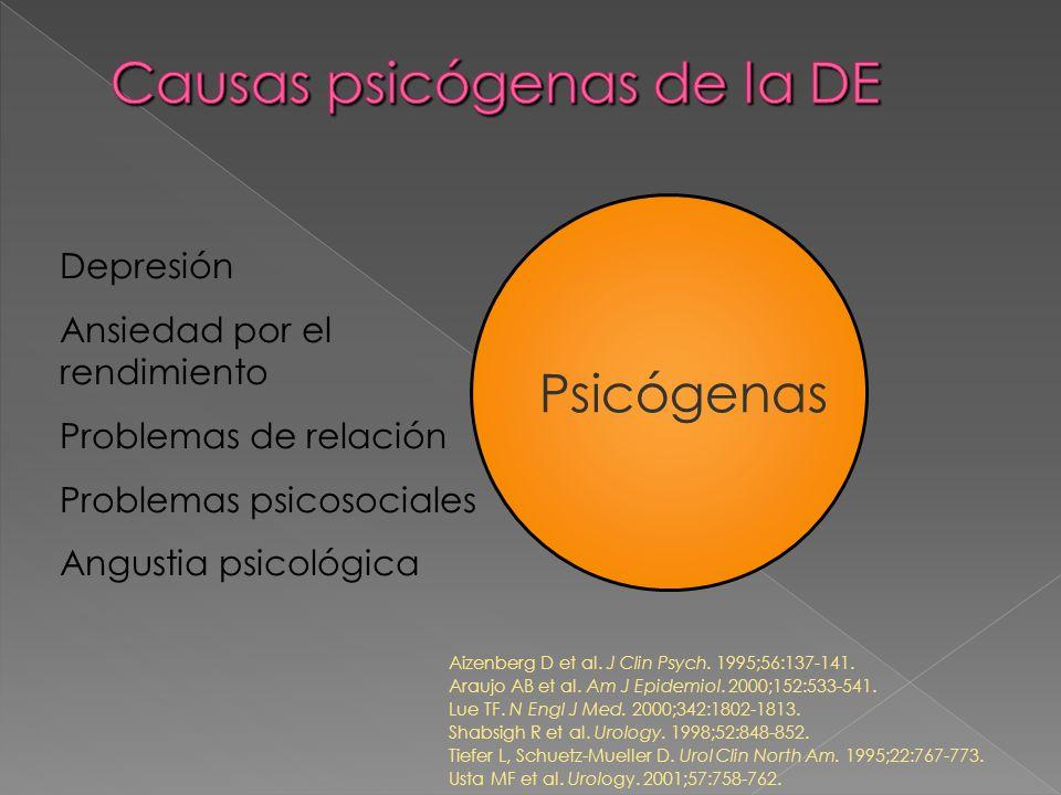 Causas psicógenas de la DE