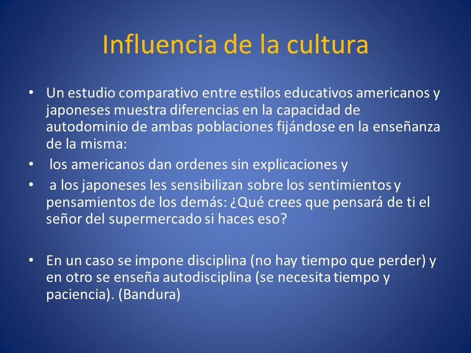 Influencia de la cultura