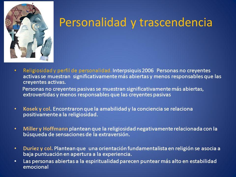 Personalidad y trascendencia