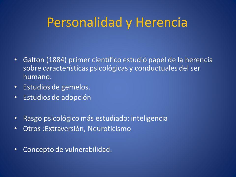Personalidad y Herencia
