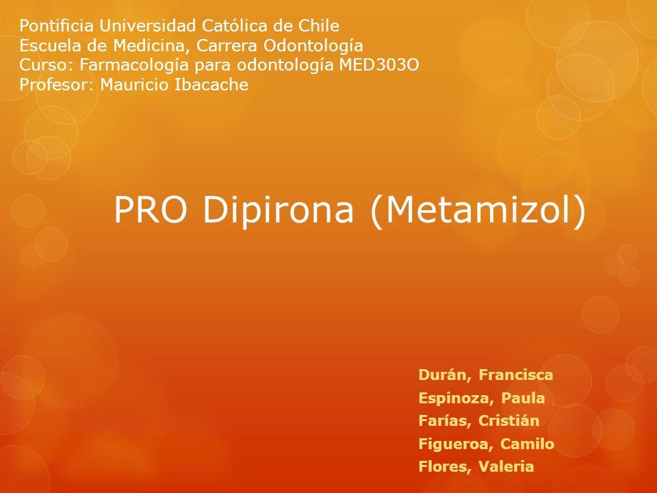 PRO Dipirona (Metamizol)