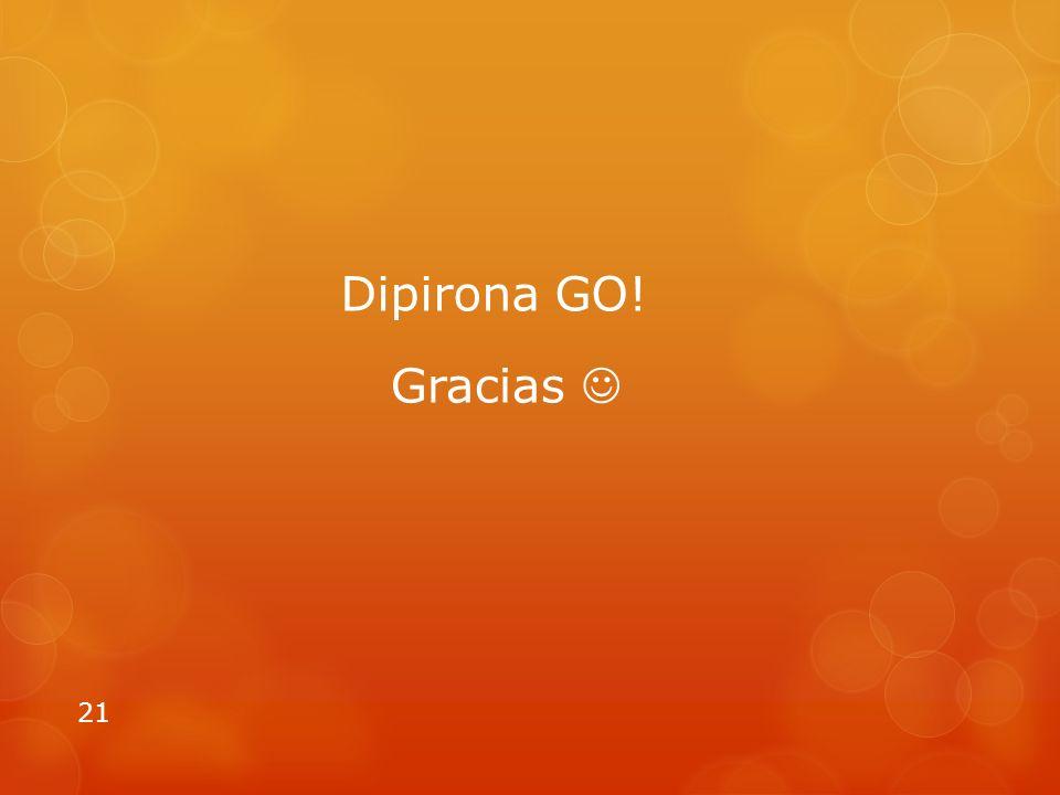 Dipirona GO! Gracias 