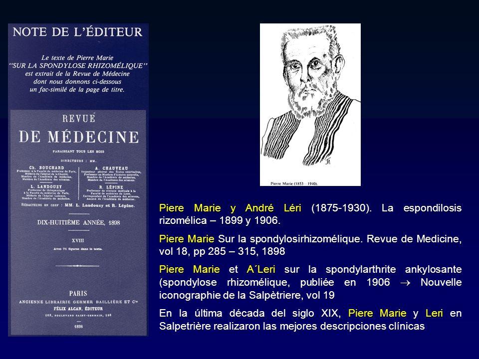Piere Marie y André Léri (1875-1930)